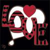 6x6 Tile LOVE