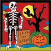 6x6 Tile Day of the Dead Halloween 8087A