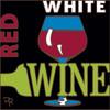 6x6 Tile Red White Wine