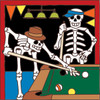 6x6 Tile Day of the Dead Pool Game