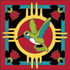 6x6 Tile Zia Hummingbird 8190A