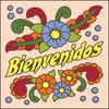 6x6 Tile Bienvenidos Flowers Sand