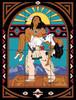 """24""""x18"""" Tile Mural Spirit Release"""