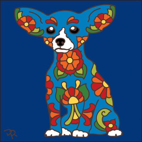 6x6 Tile Talavera Chihuahua Cobalt 8013C