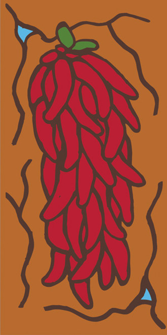 3x6 Tile Chili Strand(Brown)
