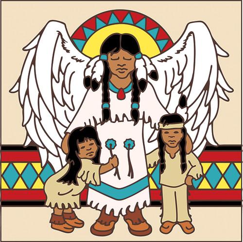 6x6 Indian Angel