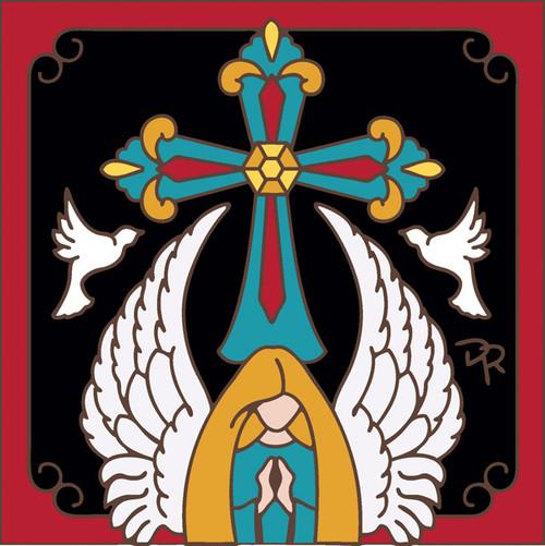 6x6 Tile Angelic Prayers