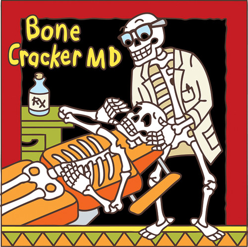 6x6 Tile Day of the Dead Chiropractor 7468A