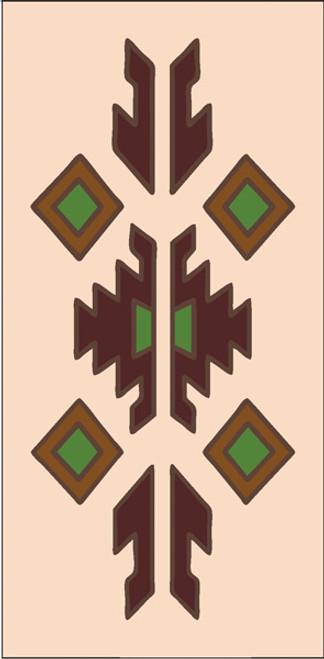 3x6 Tile Lodge Border Sand