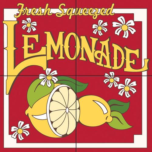 12x12 Tile Mural Fresh Squeezed Lemonade