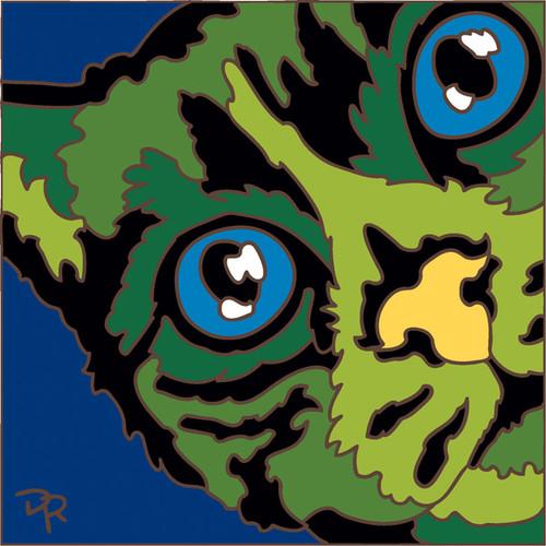 6x6 Tile Abstract Cat III