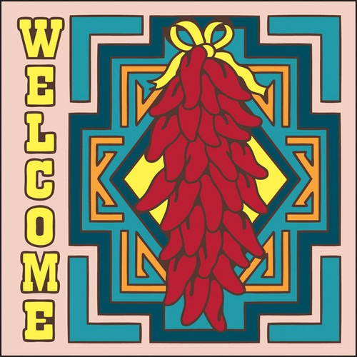 6x6 Tile Welcome Chilis
