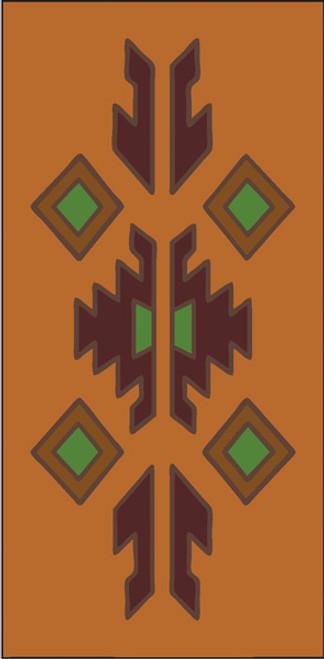 3x6 Tile Lodge Border Terra Cotta