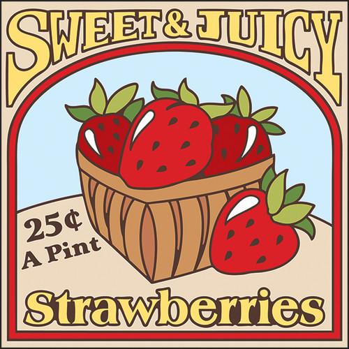 Vintage Strawberries