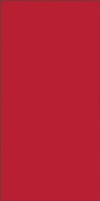 3x6 Tile House Letter Blank Black on Red
