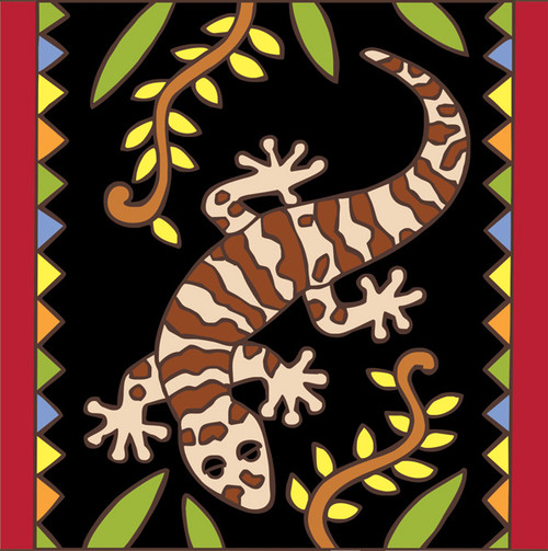 6x6 Tile Fancy Gecko