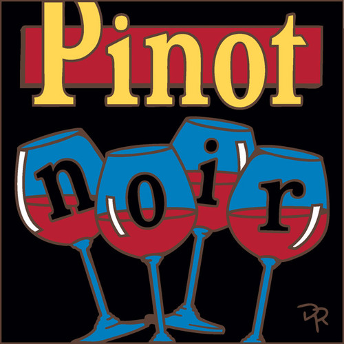 6x6 Tile Pinot Noir