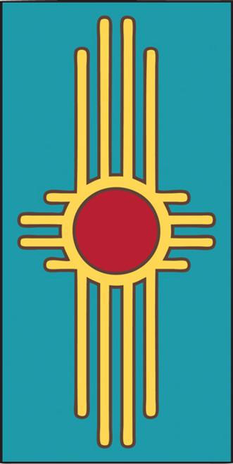 3x6 Tile Zia Turquoise