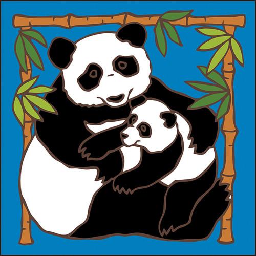 6x6 Panda Bears