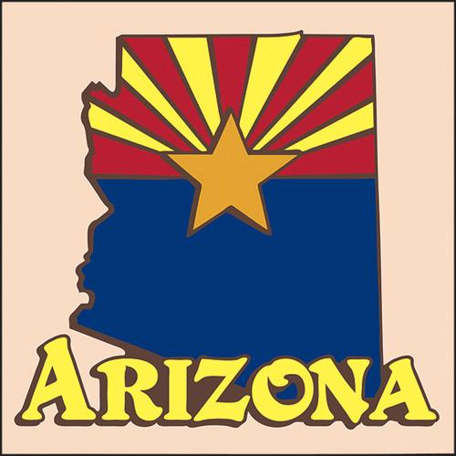 6x6 Tile Arizona State 8226A