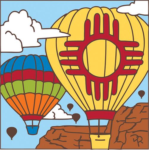 6x6 Tile Zia Balloon 8205A