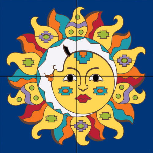 Tile Mural Southwest Sunmoon