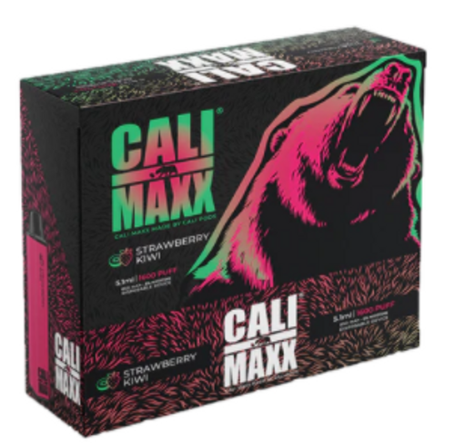 Cali Bar Maxx Disposable Strawberry Kiwi