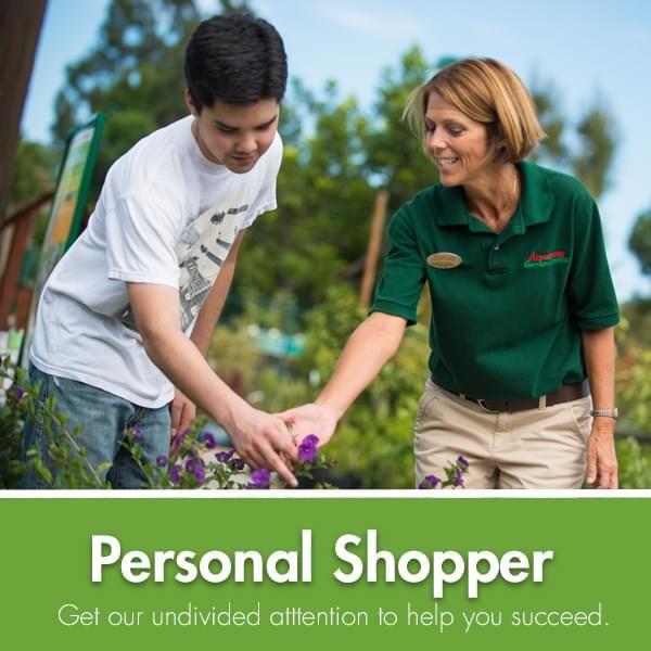 In-Store Personal Shopper Service