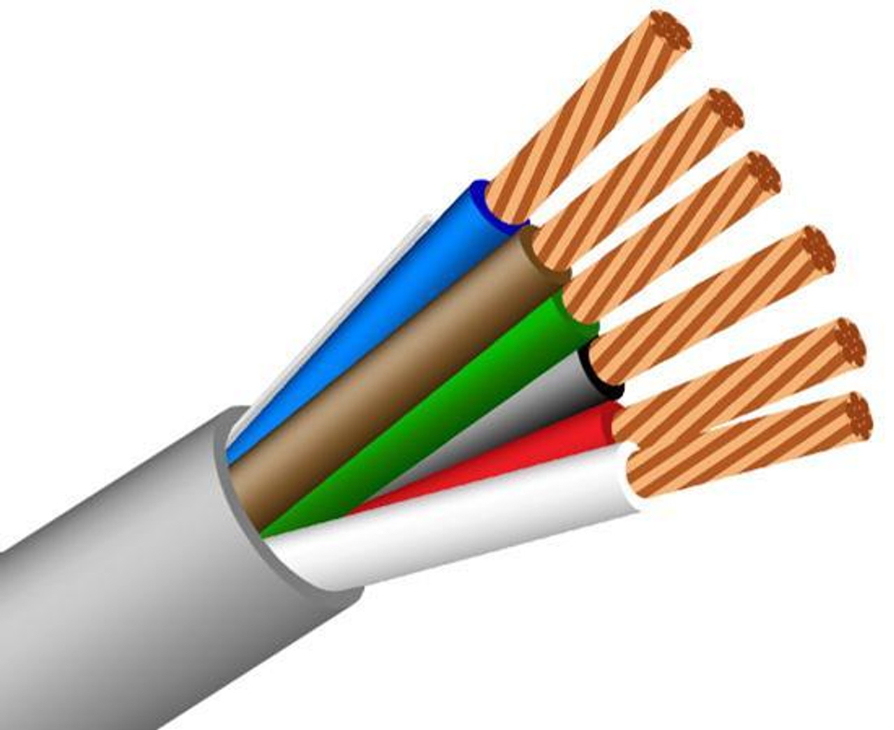 SIGNAL ELECTRONIC CABLE 1000 ft 22//2 Security Wire