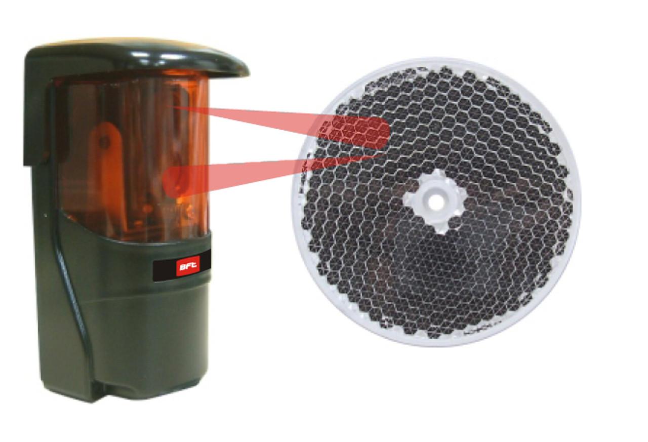 Reflective Infrared Photocell 110V PhotoEye Dual Beam Sensor Slide Gate Operator