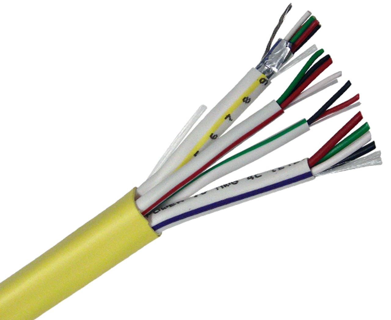 18 4 Wire | Access Control Cable 18 4 22 4 22 2 22 3pr Shielded Cmr 500 312