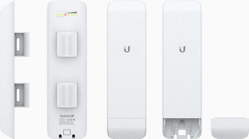 Ubiquiti Nanostation M2 2.4GHz Hi Power 2x2 MIMO AirMax Station - 885-120