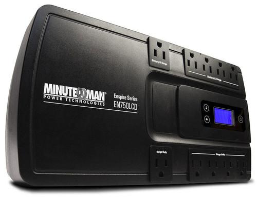 EN750LCD MINUTEMAN UPS EnSpire 750VA Stand By UPS - 801-109