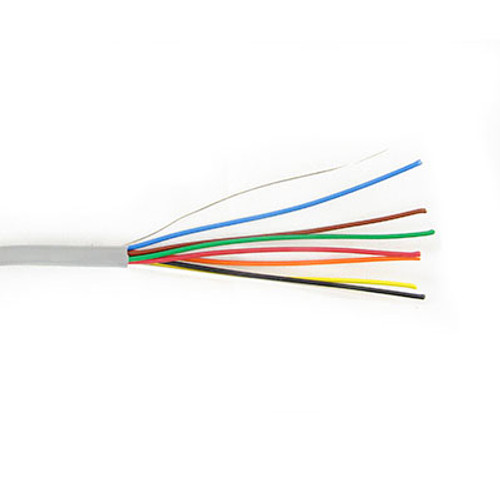 8C/22 AWG STRANDED PVC- GRAY- 500 FT BOX - 312-103-500