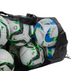 Heavy Duty Ball Bag with Soccer Balls