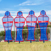 Soccer Wall Pro Free Kick Mannequin Set Blue