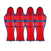 Soccer Wall Youth Free Kick Mannequin Red Set