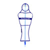 Soccer Wall Pro Free Kick Mannequin White