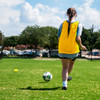 Premium Soccer Bibs Adult Set Yellow Passing