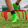 "9"" Red Soccer Hurdles 
