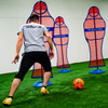 Soccer Wall Turf Free Kick Mannequin Player Dribbling