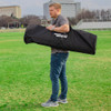 Soccer Wall Mannequin Bag with Velcro Inside Pockets