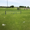 Field Marking Set with Bag Soccer Skills net