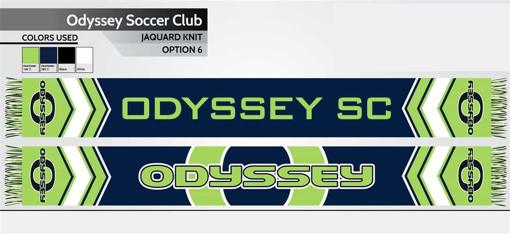 Soccer Innovations Custom Scarf | Soccer Equipment & Accessories
