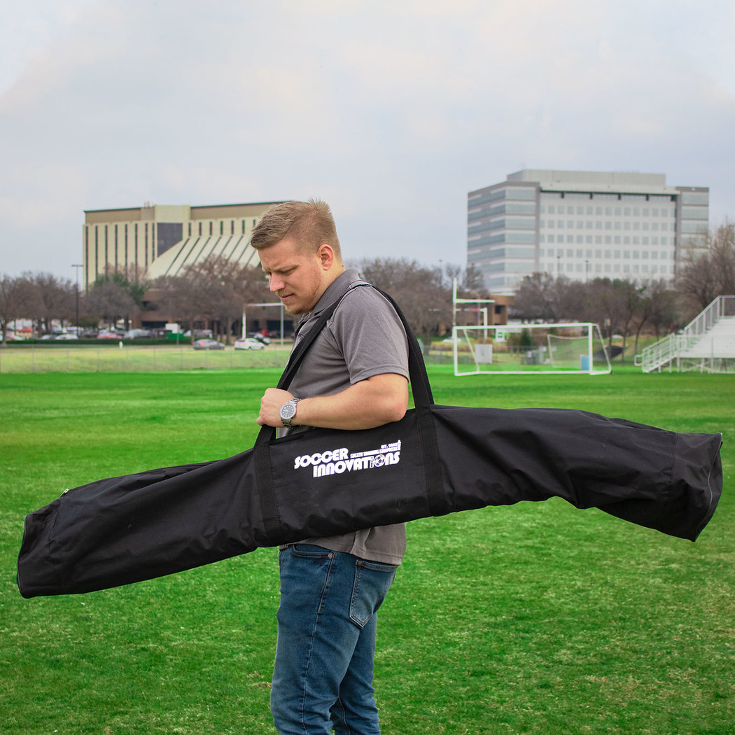 Soccer Speed & Agility Pole Set Bag | Speed and Agility Soccer Training Equipment