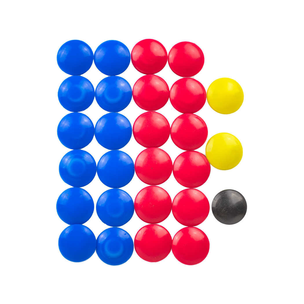Tactic Board Replacement Magnets | Soccer Equipment Tactic Board and Coaches Folder Accessories