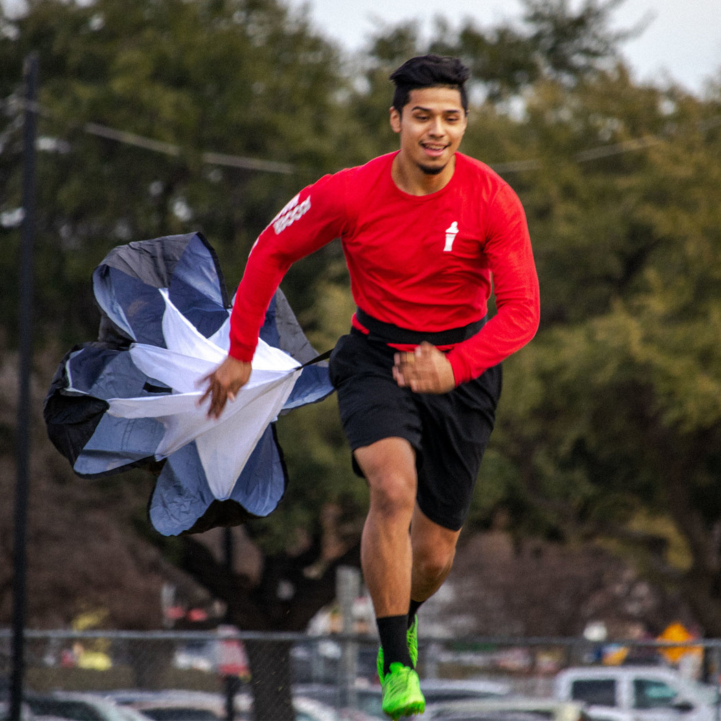 Soccer Speed Chute | Soccer Training Equipment Speed & Strength Trainer