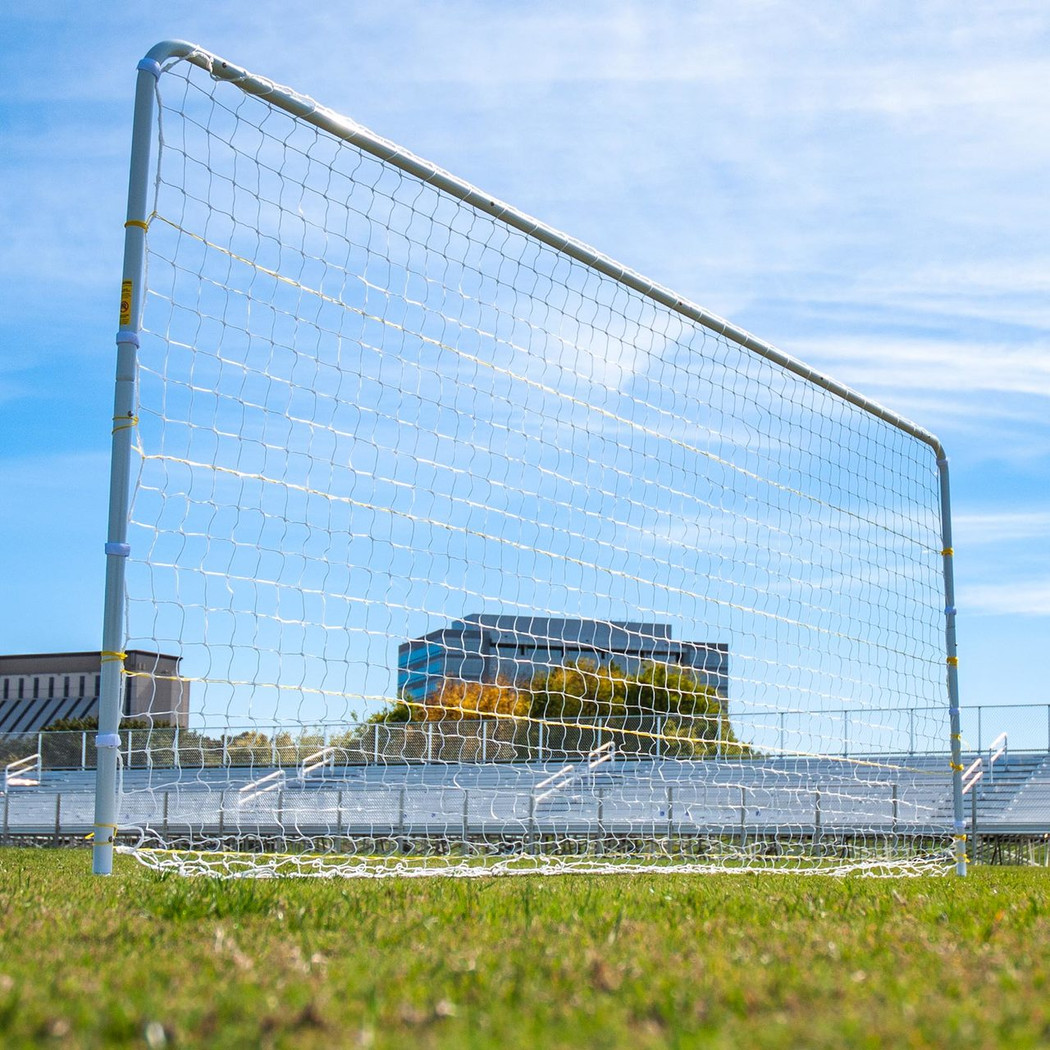 6x18 & 8x24 Premier Flat Faced Premier Soccer Goal - grass and turf goals