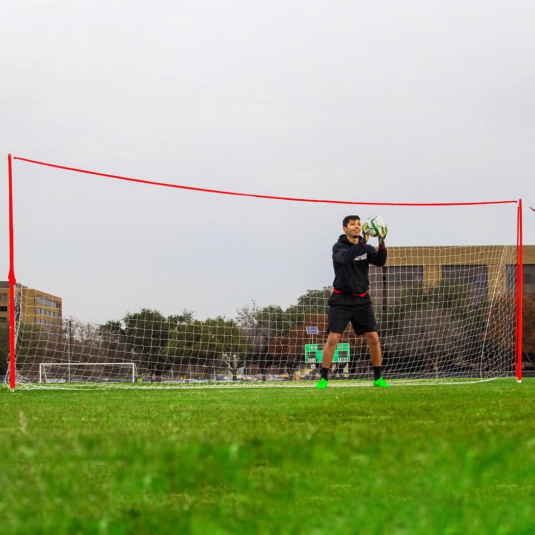 J-Goal Regulation Size Portable Goal 8x24 | Soccer Innovations Training Equipment & Soccer Goals