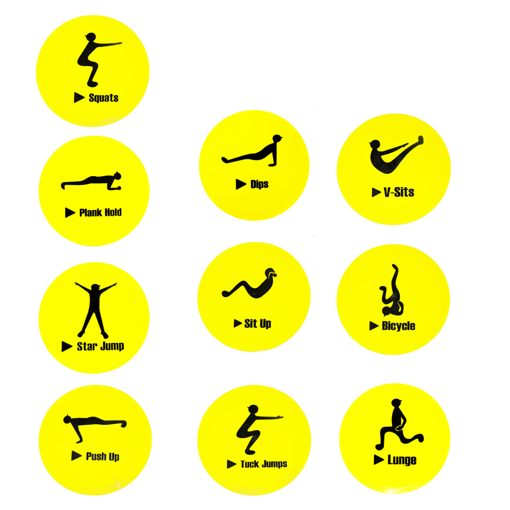Exercise Markers | Soccer Training Equipment Accessories & Markers